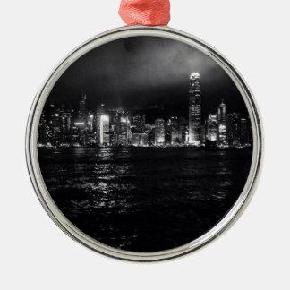 Hong Kong Skyline Christmas Ornament