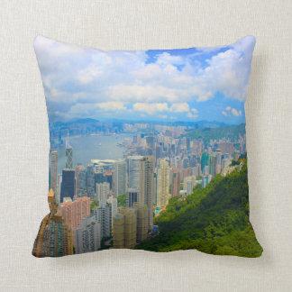 Hong Kong Skyline Cushion