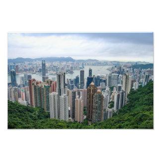 Hong Kong Skyline Photo Print