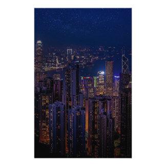 Hong Kong Skyline Stationery