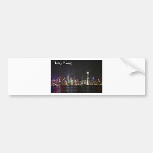 Hong Kong (St.K) Car Bumper Sticker