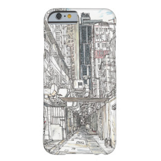 Hong Kong urban sketch. Kowloon Barely There iPhone 6 Case