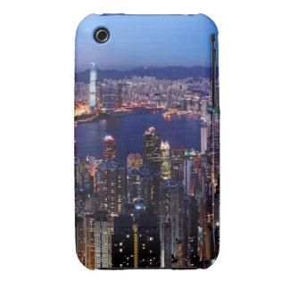Hong Kong Victoria Harbor at Night iPhone 3 Cases