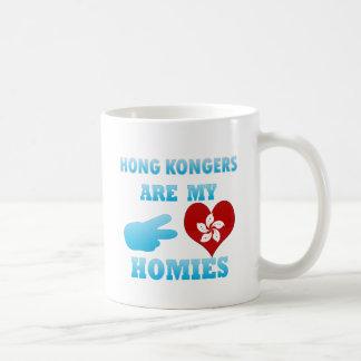 Hong Kongers are my Homies Basic White Mug