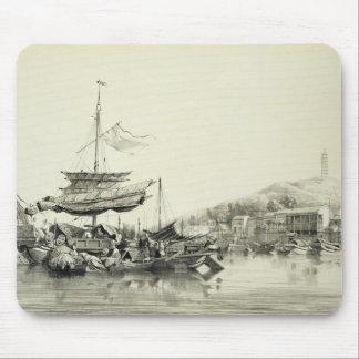 Hong Shang, plate 17 from 'Sketches of China', eng Mouse Mat