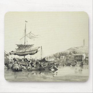 Hong Shang, plate 17 from 'Sketches of China', eng Mouse Pad