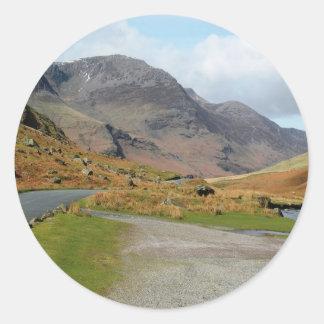 Honister Pass Round Sticker