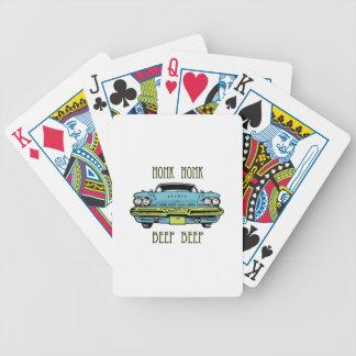 Honk Beep Bicycle Poker Cards