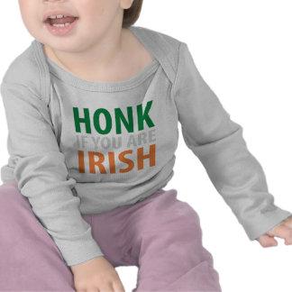 honk if you are irish tee shirts