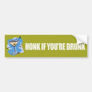 Honk If You're Drunk - Bumpersticker-Zazzle Bumper Sticker