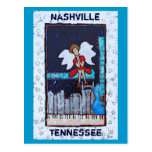 Honky Tonk Angel postcard (Nashville, TN)