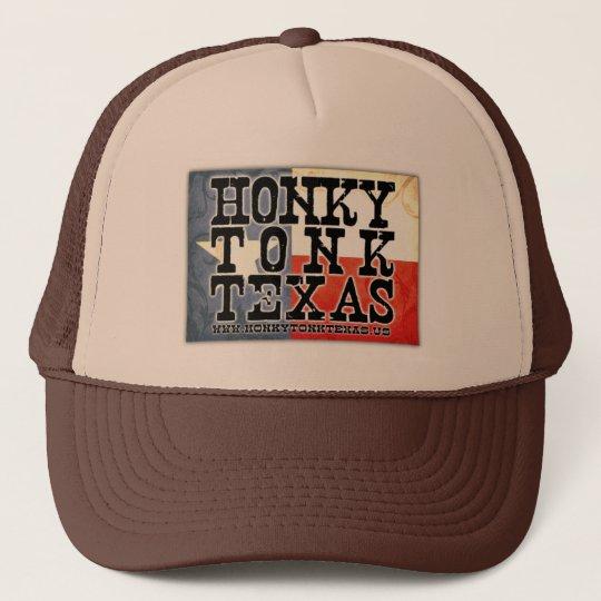 Honky Tonk Texas Flag Trucker Hat