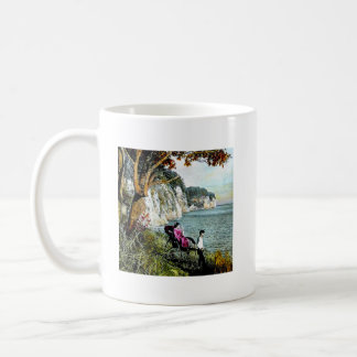 Honmoku Cliffs of Mississippi Bay Old Japan Geisha Coffee Mug