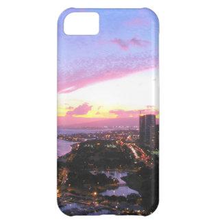Honolulu cityscape Hawaii sunset iPhone 5C Case
