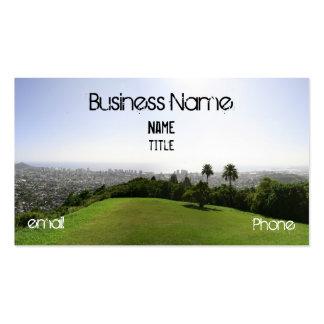 Honolulu green pack of standard business cards