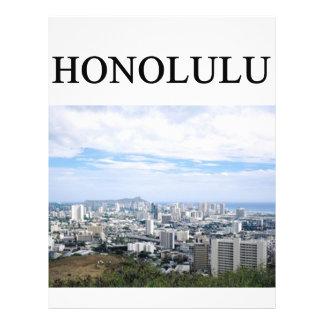 HONOLULU hawaii Flyer