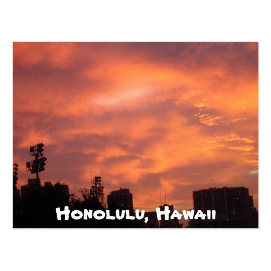 Honolulu, Hawaii Postcard