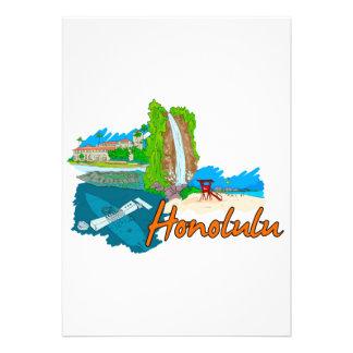 Honolulu - Hawaii - United States of America png Invite