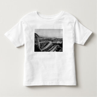 Honolulu, Hawaii - View of the Pali Toddler T-Shirt