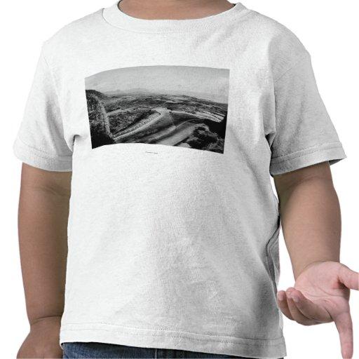 Honolulu, Hawaii - View of the Pali Tee Shirt