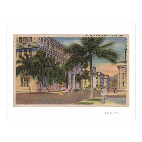 Honolulu, HIView of Bishop St.Honolulu, HI Postcard