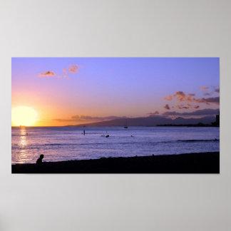 Honolulu Twilight Print