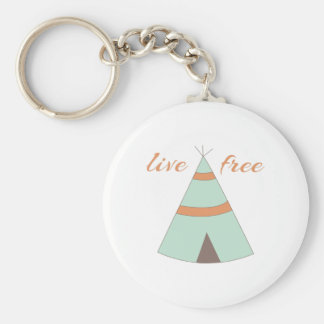 Honor American Indian heritage with a sweet teepee Keychains