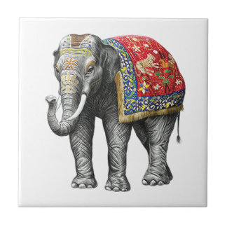 HONOR AND TRIBUTE SMALL SQUARE TILE