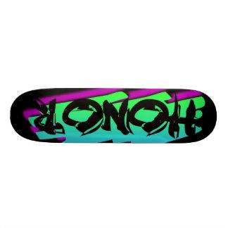 HONOR BLACK SKATEBOARD