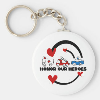 Honor Our Heroes Tshirts and Gifts Key Ring