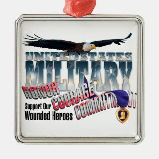 Honor our Military Heroes Ornaments