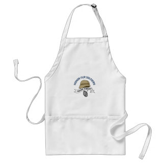 HONOR OUR SOLDIERS APRON