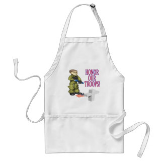 Honor Our Troops Adult Apron