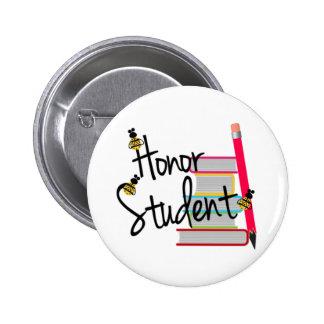 Honor Student 6 Cm Round Badge