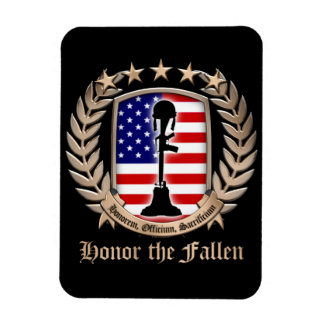 Honor The Fallen - Crest Magnets