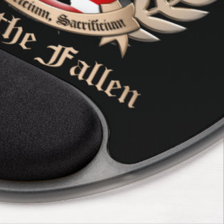 Honor The Fallen - Crest Gel Mouse Pad