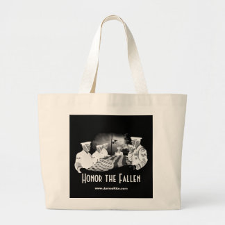 Honor the Fallen Large Tote Bag