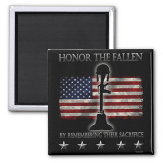 Honor The Fallen Refrigerator Magnets