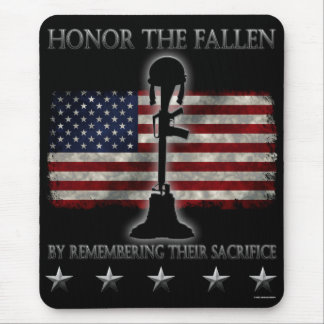 Honor The Fallen Mouse Pad