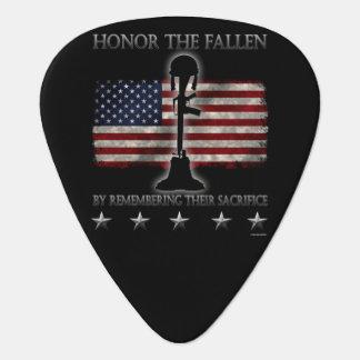 Honor The Fallen Plectrum