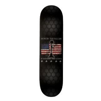 Honor The Fallen Skateboard