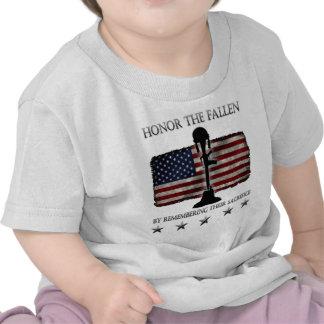 Honor The Fallen Tee Shirts