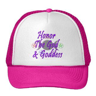 Honor The God & Goddess Cap
