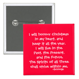 Honor-The Scrooge Series 15 Cm Square Badge