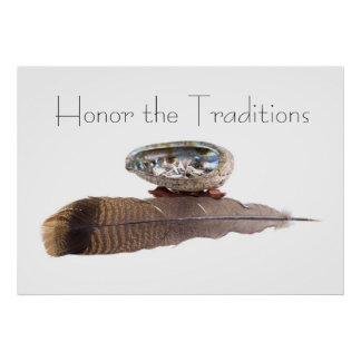 Honor the Traditions Poster