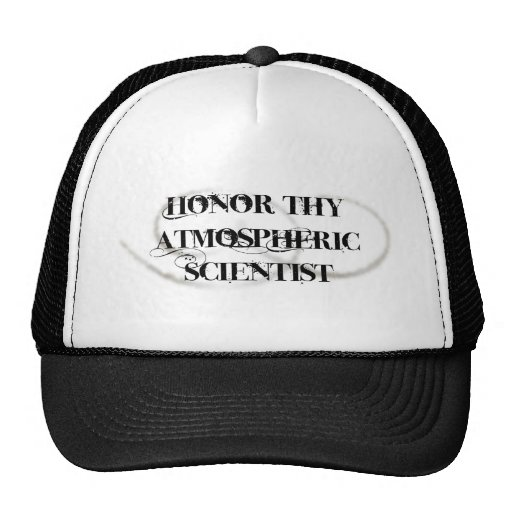 Honor Thy Atmospheric Scientist Mesh Hat