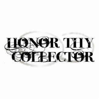 Honor Thy Collector Standing Photo Sculpture