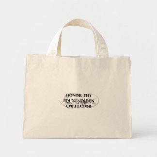 Honor Thy Fountain Pen Collector Canvas Bag