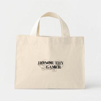 Honor Thy Gamer Mini Tote Bag