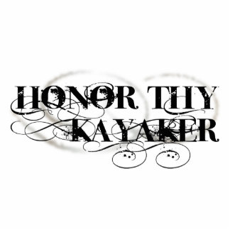 Honor Thy Kayaker Photo Sculpture